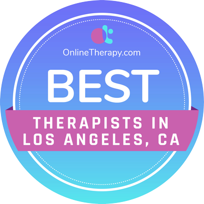 Best Therapists in Los Angeles, CA Badge